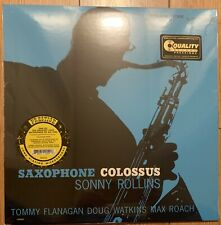 Sonny Rollins Saxophone Colossus- Vinyl LP - Kevin Gray QRP - New- Sealed