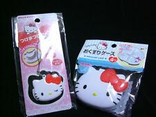 New Sanrio Hello Kitty Pill Storage case Cute Mascot Japan Pill Box 2set