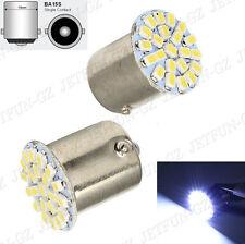 1X White 1156 BA15S 22 SMD LED Light Turn Signal Backup Reserve bulb Lamp 7506