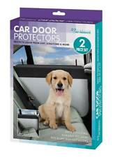 NEW 2-Piece Car Door Protectors Protects Interior Of Car Door Dirt & Scratches