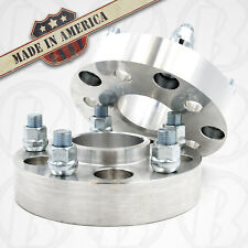 "2 USA MADE | Chevrolet Chevy GMC 2"" Hubcentric Wheel Spacers 5x4.75 (5x120.7)"