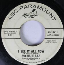 Pop Promo 45 Michele Lee - I See It All Now / He'S Not Good Enough For You On Ab