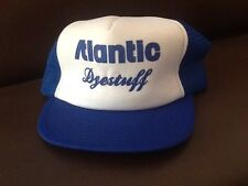 VINTAGE ATLANTIC DYESTUFF TRUCKER SNAP BACK HAT CAP