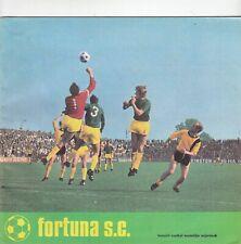Fortuna SC - 1971/2 Club Magazine (Edition Number 8)