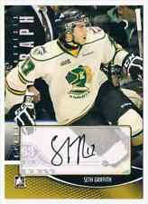 2012-13 HEROES AND PROSPECT AUTOGRAPH SETH GRIFFITH AUTO LONDON KNIGHTS #A-SG