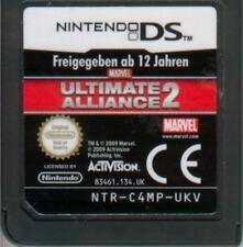 - Ultimate Alliance 2-Marvel-solo módulo-Nintendo DS juego -