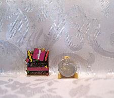 USA RYTHMIC GYMNASTICS U.S. Olympic Festival Rainbow Foods 1990 Hat Pin Badge