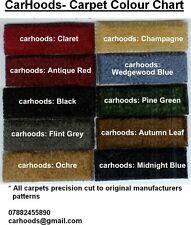 Triumph Spitfire Mk1 Mk2 Mk3 Mk4 1500 Carpet Set- choice of colours NEW