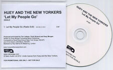 HUEY & THE NEW YORKERS Let My People Go UK promo test CD Fun Lovin Criminals