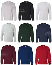 JERZEES HiDENSI-T Long Sleeve Cotton T-Shirt 363LSR S-3XL CLOSEOUT