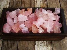 1000 Carat Lots of Unsearched Rose Amethyst Rough + a FREE faceted Gemstone