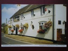 POSTCARD DERBYSHIRE COTON IN THE ELMS - THE QUEENS HOTEL