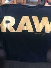Raw T-Shirt Black Adult Small