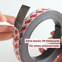 Magnetband für Fliegengitter selbstklebend 1,5mm x 12,7mm je 7m Typ A und B
