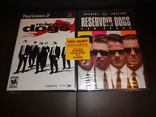 PLAY STATION 2 RESERVOIR DOGS w/the MOVIE-2 disc Ten year anniversary special ed