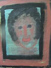 Painting by folk artist sybil gibson