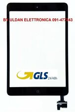 TOUCH SCREEN Per Apple iPad Mini 2 A1489 A1490 A1491 WiFi 3G VETRO Nero GLS 24H