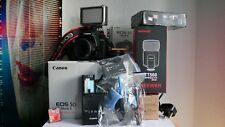 CANON EOS 5D Mark II Mk2 MKII 21.1MP DSLR Body + F1.8 50mm PRIME Lens & Extras
