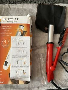 In Styler Rotating Iron hair styling tools