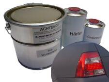 1 Liter Set 2K Autolack Platinium Grey Metallic Matt kein Klarlack Lackpoint !