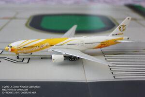 JC Wing Nok Scoot Boeing 777-200ER of Thailand Diecast Model 1:400