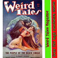 Weird Tales Magazine-horror/occult witchcraft - High grade 250 plus issues