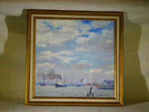 Elizabeth Fisher Washington Listed Women Artist Original Oil Seascape