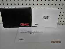 2002 GMC Sierra Owners Manual Set    FREE SHIPPING