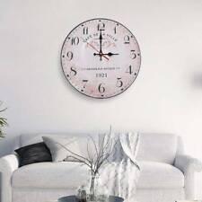 Wanduhr Wohnzimmer Küchenuhr analog Retro  Design Quarz Uhr Deko Bürouhr leise