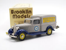 Brooklin BRK16X 1/43 1938 Dodge Van Dutch Pharmacy Handmade White Metal Model