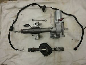 02-07 SATURN VUE EQUINOX COMPLETE ELECTRIC POWER STEERING PUMP MOTOR COLUMN EPAS