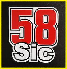 58 Simoncelli Marco superSIC 58 adesivo stickers tributo adesivi motogp