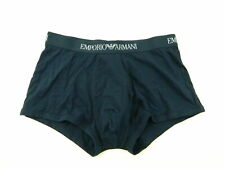 EMPORIO ARMANI $35 Blue SZ M (32-34) MEN 1-PK Boxer Brief COTTON UNDERWEAR O24