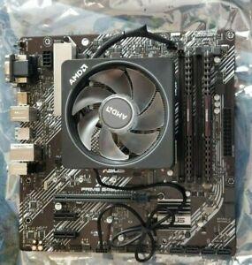 Ryzen 7 2700x + RGB wraith, DDR4 3200 16gb, Prime B450M-A II Motherboard bundle