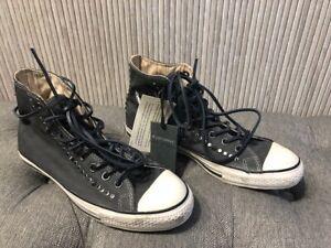 Authentic NEW Converse x John Varvatos CANVAS Studded Shoes Men Size 8.5