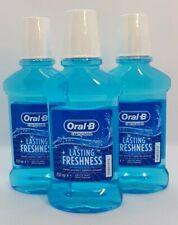Oral B Complete Arctic Mint Mouthwash 3x 250ml Oral Hygiene Care Freshness