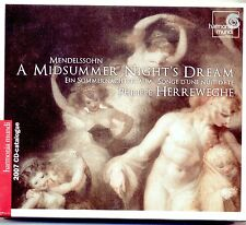 MENDELSSOHN - A MIDSUMMER NIGHT'S DREAM, HERREWEGHE (2007) HARMONIA MUNDI CD