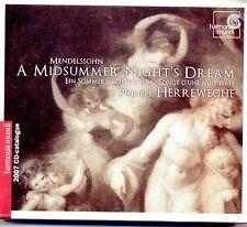 "MENDELSSOHN - ""A MIDSUMMER NIGHT'S DREAM"", HERREWEGHE (2007) HARMONIA MUNDI CD"
