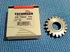 TECUMSEH PEERLESS TRANSMISSION SPUR GEAR 778240 *NEW OEM PART*        D-40-4/25