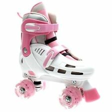 Rollers et patins blancs