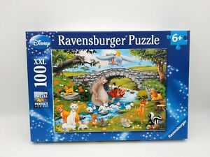 100 Pieces XXL Puzzle - the Family The Animal Friends - Ravensburger - 100%