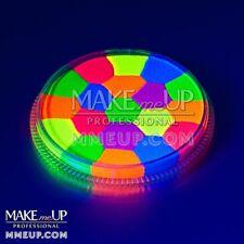 CONFETTI Neon Frenzy Fluorescent UV mix split Face paint color facepaint body