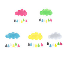 baby kids room nursery home cloud rain drop wall mural decor stickers decal*v*