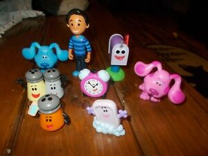 Blue's Clues & You! Collectible Figure Lot  Great birthday cake toppers