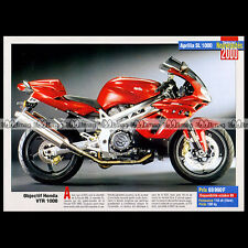 APRILIA SL 1000 2000 - Fiche Moto MJ #258