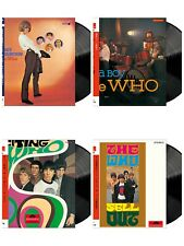 """THE WHO 4 Type Value Set 12 """" Vinyl Record 180g LP Japan Limited Edition 2021"""