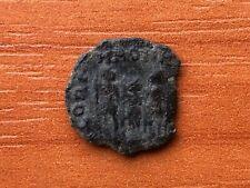 """Honorius 393-423 AD AE3 """"Three Emperors"""" Ancient Roman Coin"""