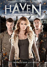 DVD: Haven: Complete Fourth Season, Various. Acceptable Cond.: Emily Rose, Lucas