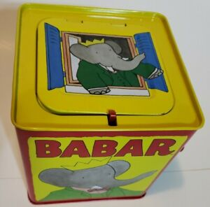 Babar Schylling Jack In The Box (Tested & Works) *RARE*