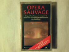 VANGELIS Opera sauvage mc cassette k7 ITALY APRODITE'S CHILD SIGILLATA SEALED!!!